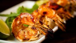 海老や蟹などの甲殻類の焼物